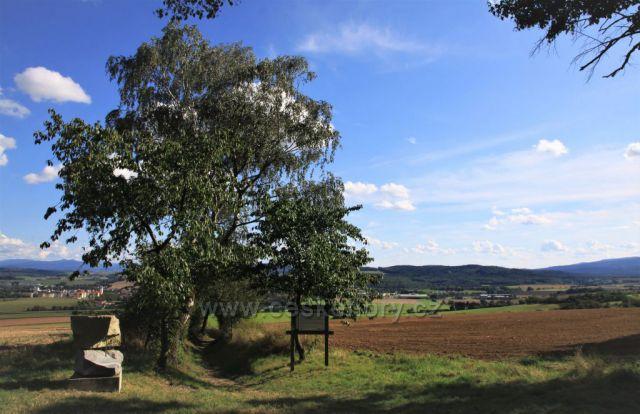 Výhled z Baldovského návrší - Domažlice