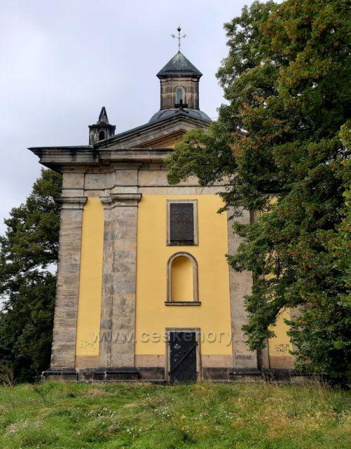 Chlumec, Ústecký kraj, kaple Nejsvětější Trojice na Horce