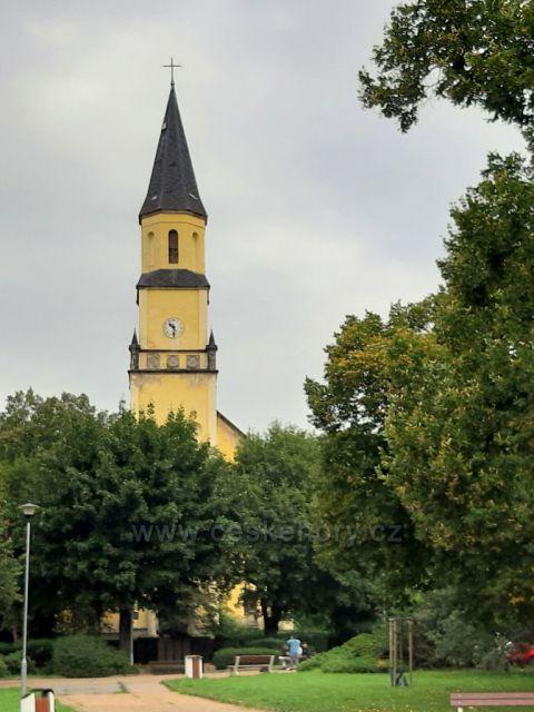 Chlumec, Ústecký kraj, kostel. sv. Havla
