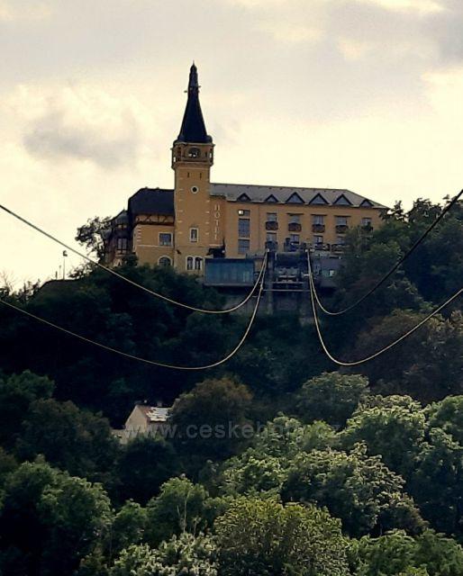 Ústí nad Labem, lanovka na Větruši