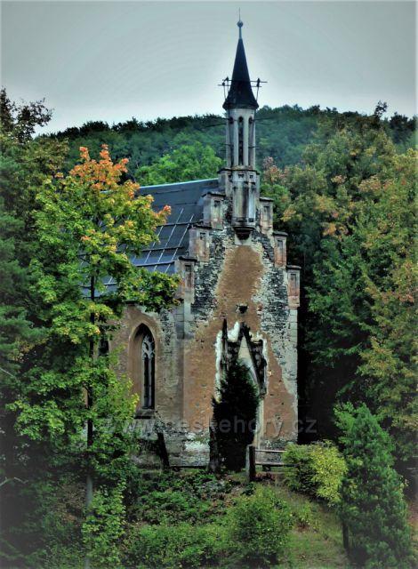 Hrad Horní hrad - kaple (Hauenštejn)
