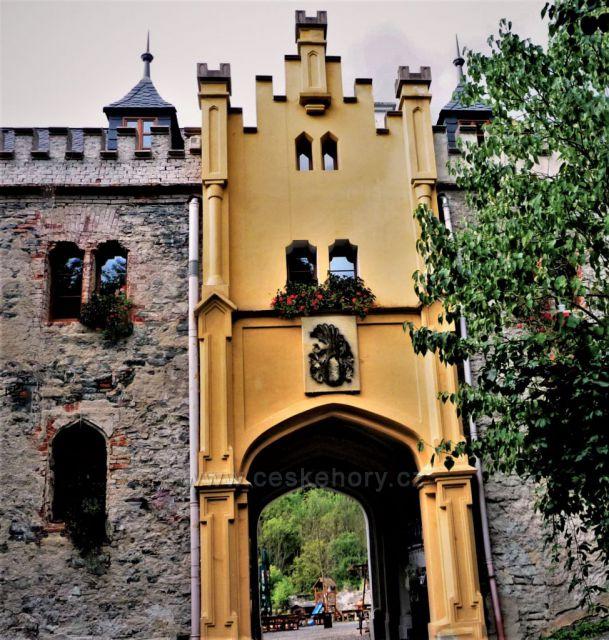 Hrad Horní hrad (Hauenštejn)
