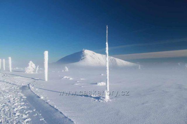 Cestou ze Sněžky na Luční boudu