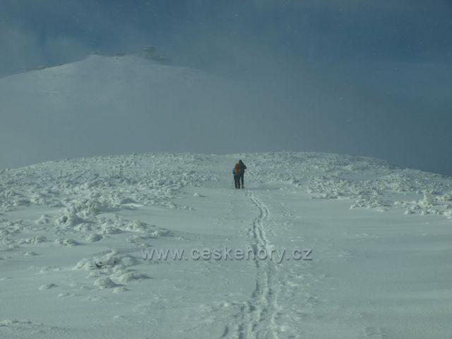 Krkonoše - stoupání na Sněžku