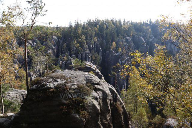 výhled na skalní město