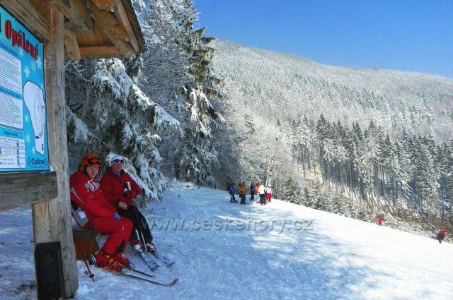 Čeladná-ski areál Opálená