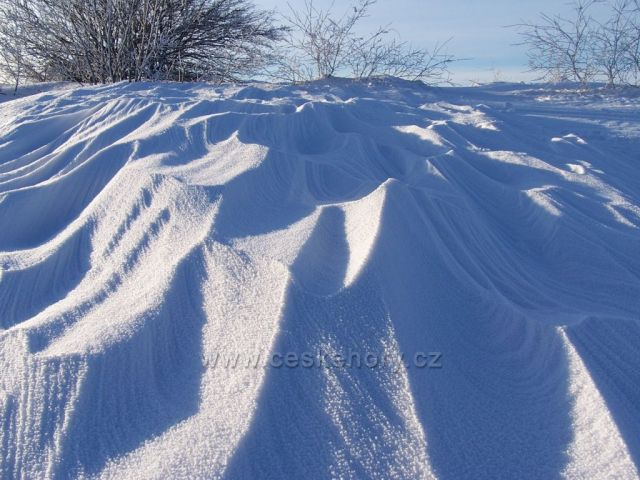 Sněžné vlnobytí