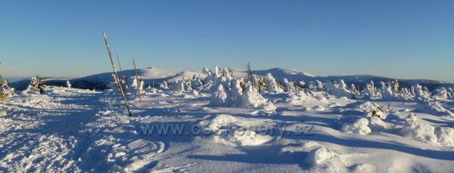 Sněžka a Kozí hřbety