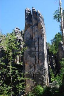 Dražd'anská věž Prachovske skaly