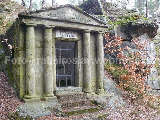 Dranovec- Skalní kaple