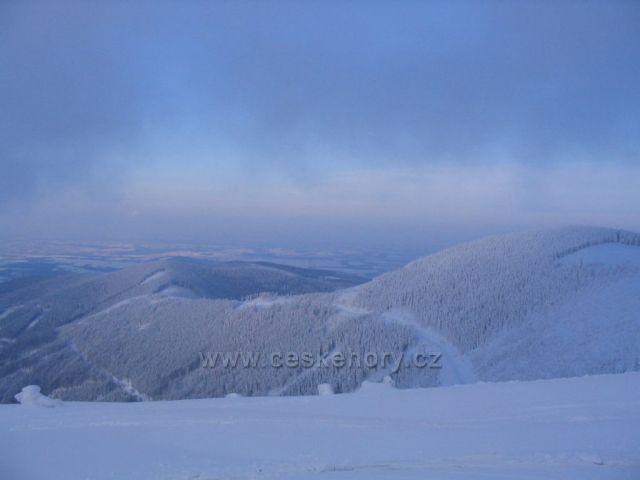 Beskydy - pohled z Lysé hory
