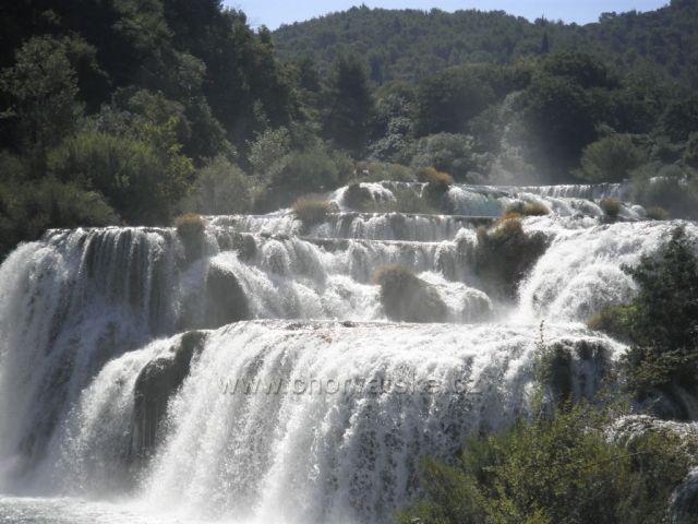 Vodopády v NP Krka