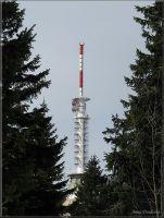 Telekomunikační vysílač na Černé hoře