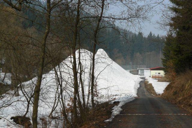 Albrechtice a jejich hora sněhu