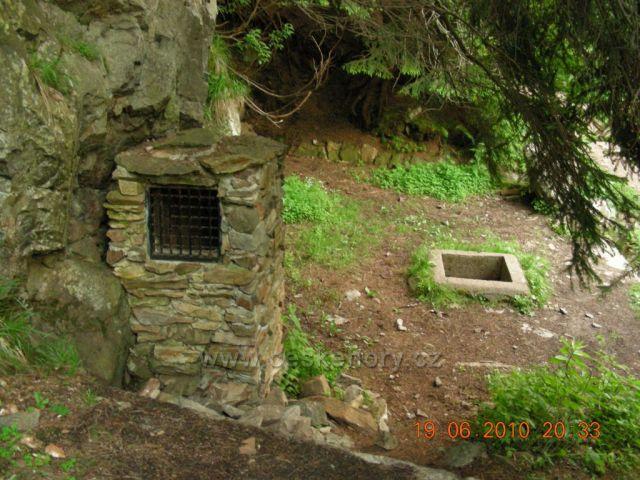 Starý důl(části dolu)