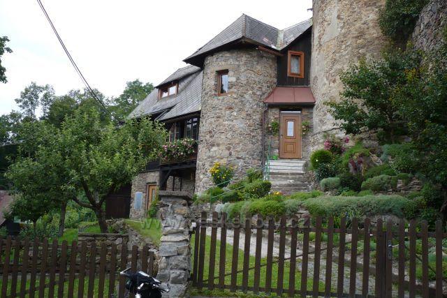 Staré hradby Vimperk