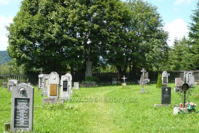 Knížecí pláně, hřbitov