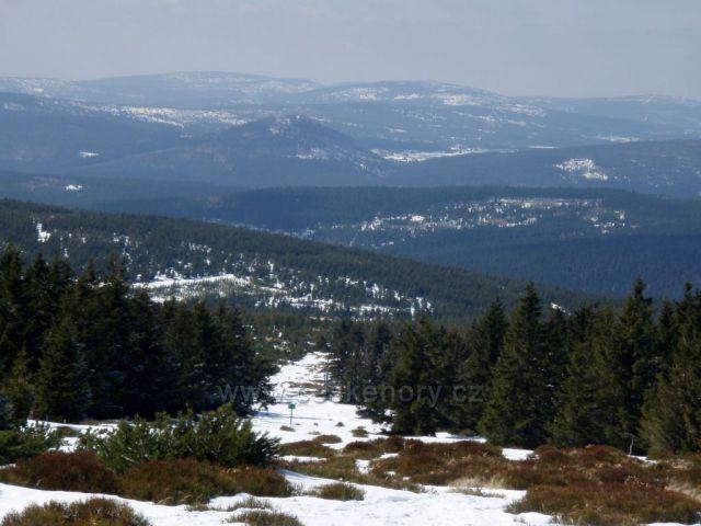 Pohled na Jizerské hory