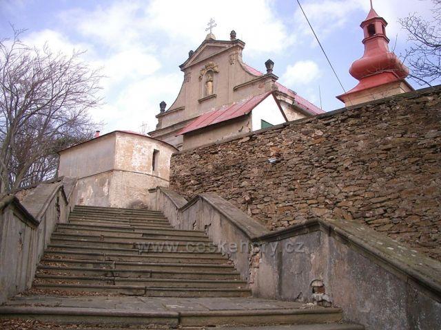 poutní kostel v Květnově