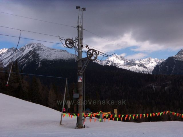 Vysoké Tatry -Solisko březen 2011