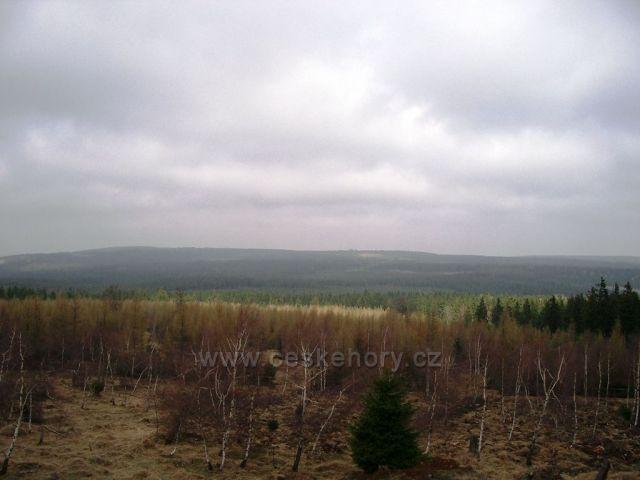 výhled -skalní vrch Čihadlo nad Načetínem