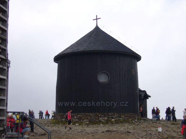 Sněžka - kaple Sv.Vavřince