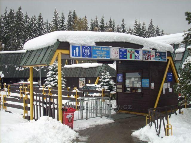 Harrachov-lanovka na Čerťák