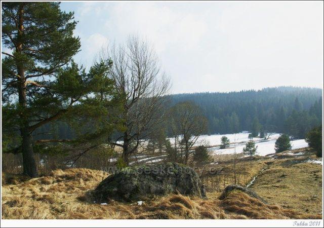Nad Prášilským potokem...