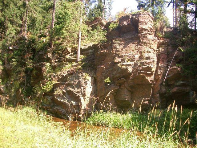 Kalek  - hraniční potok