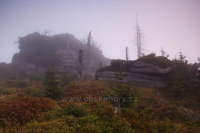mlha na Jizeře