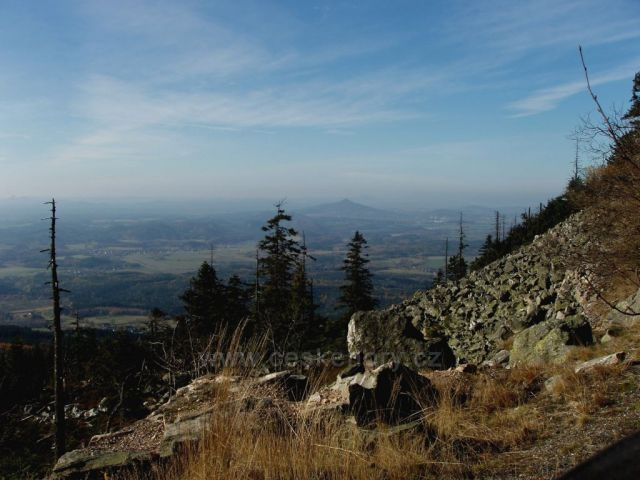 Výhled z Ještědu