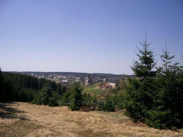 pohled na Německou Kienhaidu