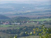 Ronov-pohled z hradu