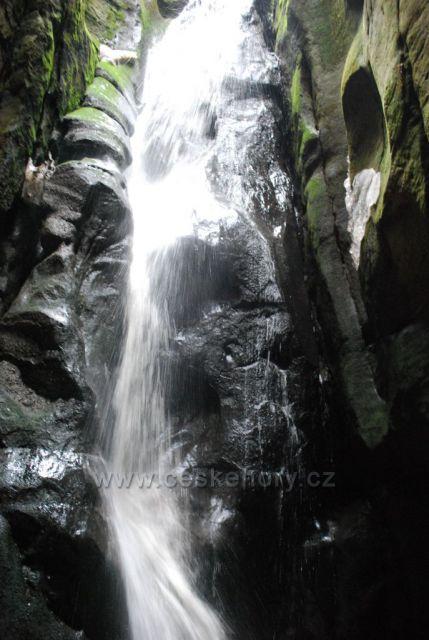 Velký vodopád v jarním Ádru