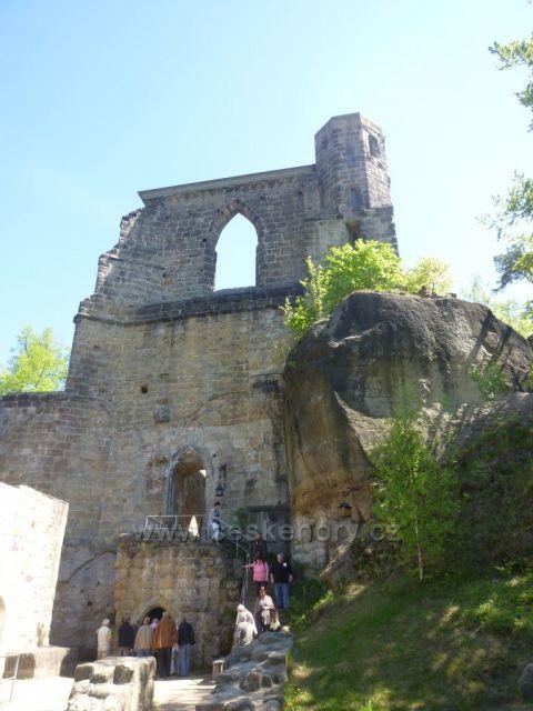 Oybin - klášterní kostel