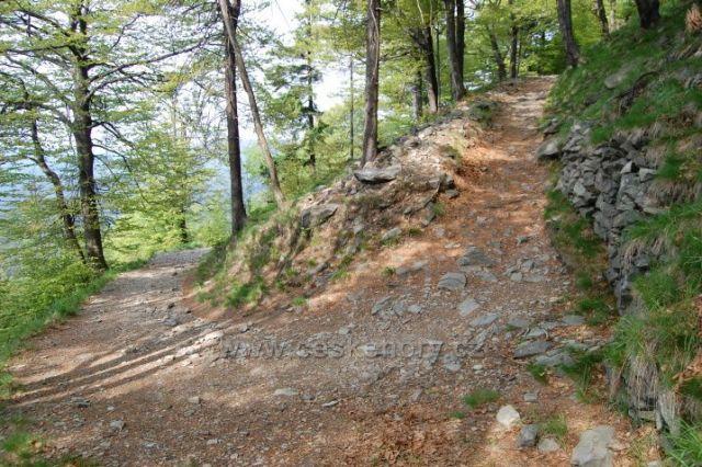 Luž-cesta k vrcholu