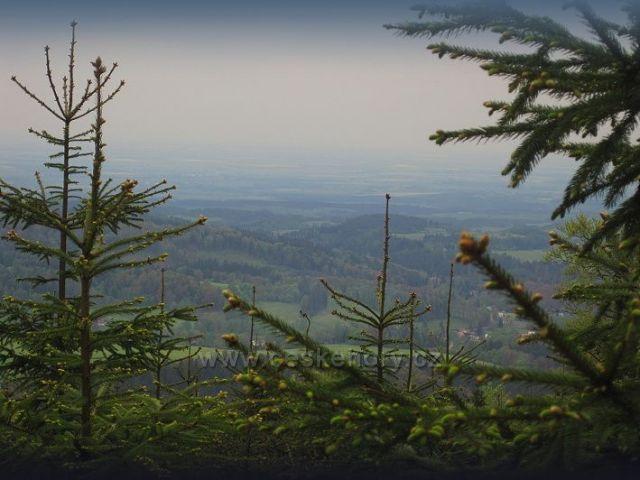 pohled do kraje z ORLICKÝCH