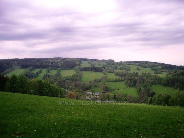 Pohled na Dolní Údolí