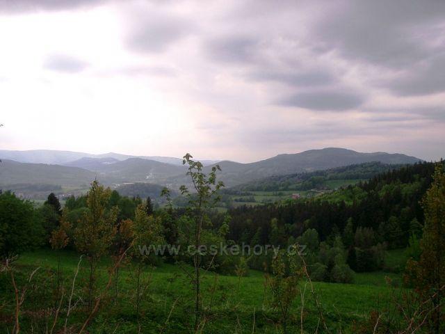 Pohled z Rejvízu