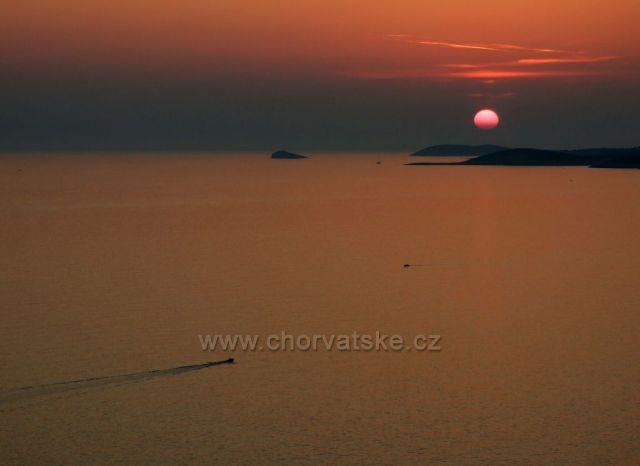Pakleni otoci u Hvaru při západu