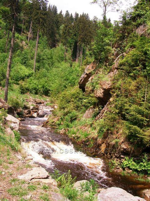 Prunéřovské údolí - potok