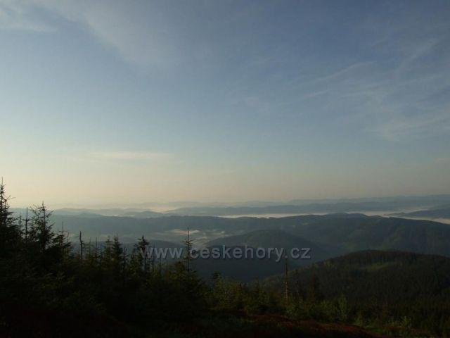Ranní výhledy z Lysé hory