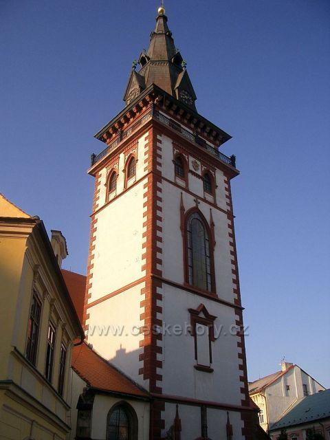 Chomutov - vyhlídková věž kostela