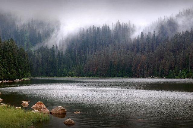 Šumava, Plešné jezero