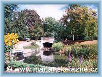 Mariánské Lázně - Městský park