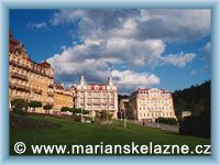 Mariánské Lázně - Geothovo náměstí