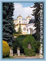 Mariánské Lázně - Římskokatolický děkanský kostel Nanebevzetí Panny Marie