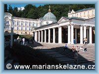 Mariánské Lázně - Pavilón Křížového pramene