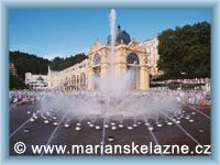 Mariánské Lázně - Fontána