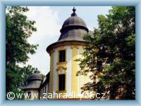 Zahrádky - zámek